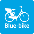 Blue-bike-logo transparant